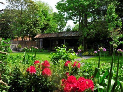Bijvriendelijke tuin in Warder